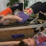 Anita practising Core Routine
