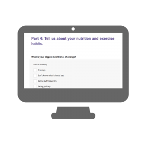 initial assessment help you choice goals and achieve them